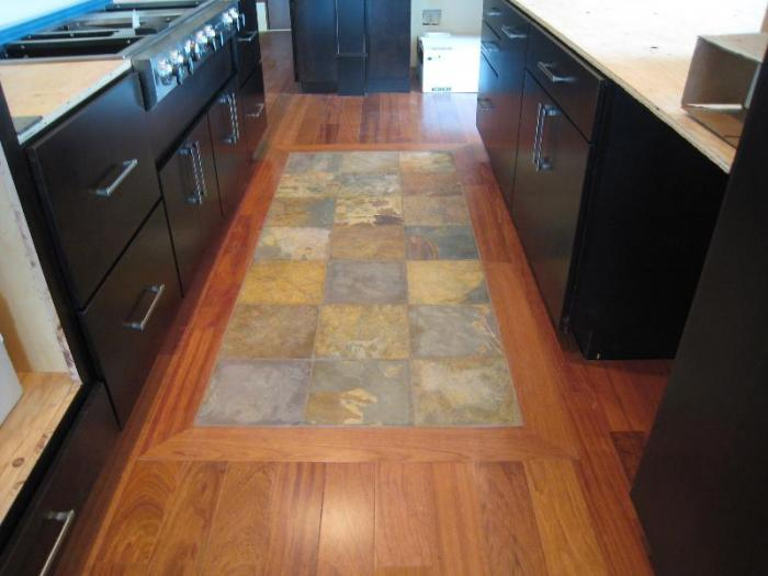 custom floors & Kitchen
